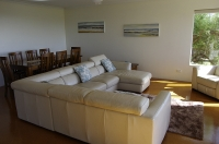 Busselton Bayside Beach House open plan living/dining area